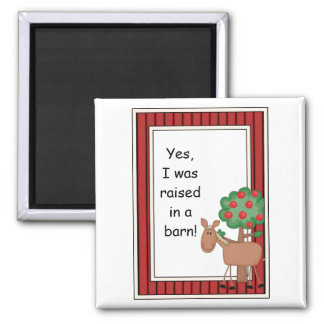 Brown Pony Horse - Farmyard Barnyard Friend - Kids Magnet