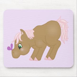 Brown Pony Mousepad