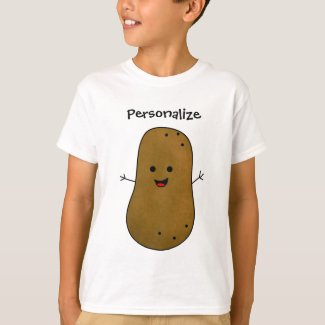 Brown Potato Personalized T-Shirt