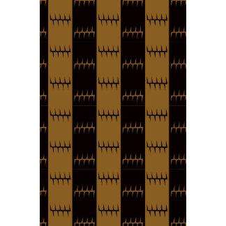 Brown Primitive shapes Calendar