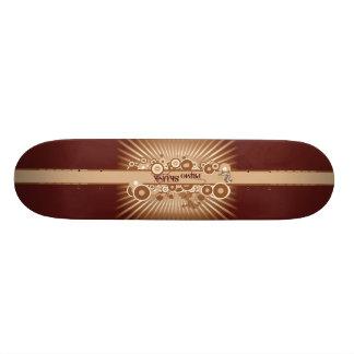 Brown Primo Skunk Vintage Skateboard