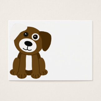 Brown Puppy Business Card