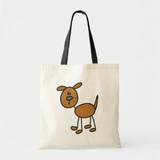 Brown Puppy Dog Tshirts and Gifts Canvas Bag