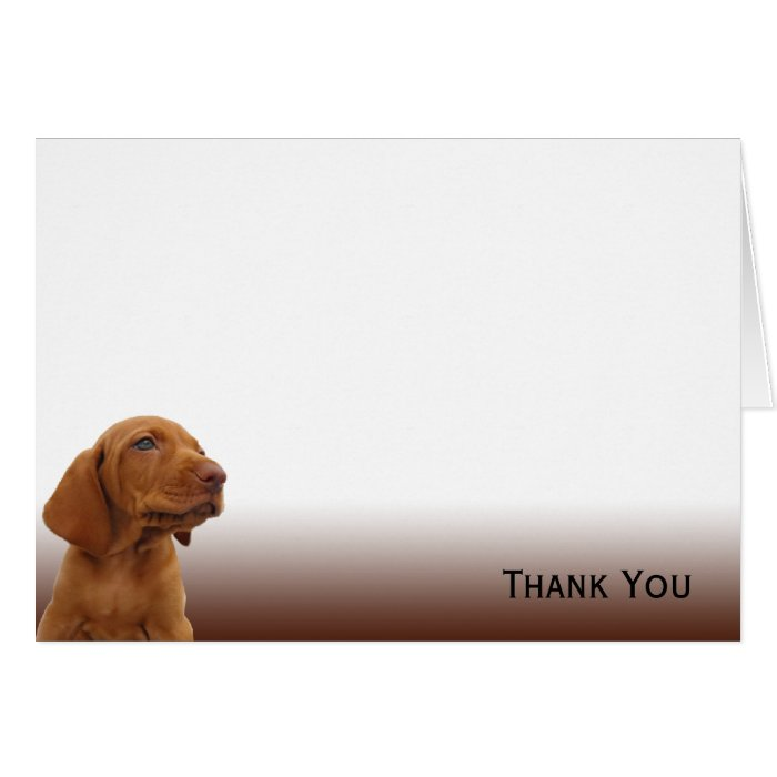 Brown Puppy on a Brown Gradient Card