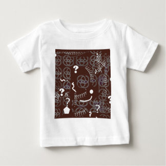 Brown Question Abstract Baby T-Shirt