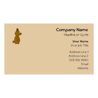 Brown Rabbit Business Card