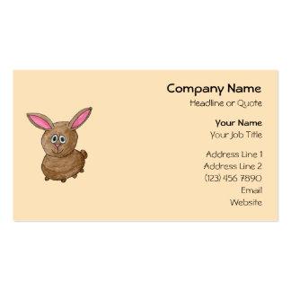 Brown Rabbit. Business Card