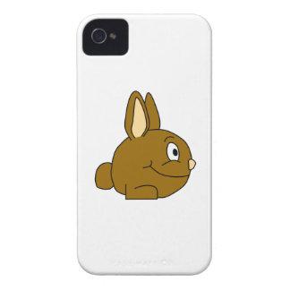 Brown Rabbit Cartoon iPhone 4 Case