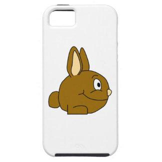 Brown Rabbit Cartoon iPhone SE/5/5s Case