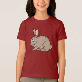 Brown Rabbit Girls T-Shirt