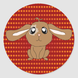 Brown Rabbit Sticker