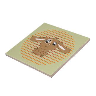 Brown Rabbit Tile