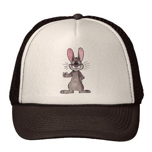 Brown Rabbit Trucker Hat