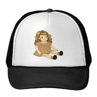 Brown Rag Doll Hats
