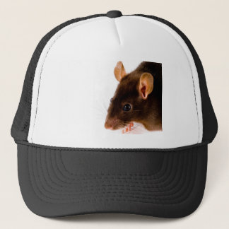 Brown Rat Trucker Hat