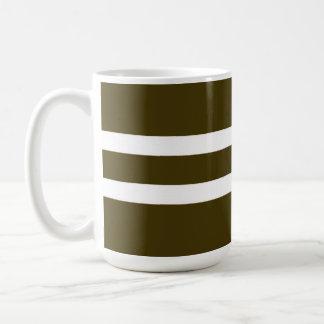 Brown rayó la taza