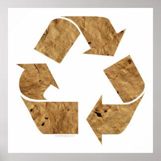 Brown recicla la muestra impresiones
