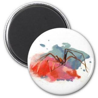 Brown Recluse Spider 2 Inch Round Magnet