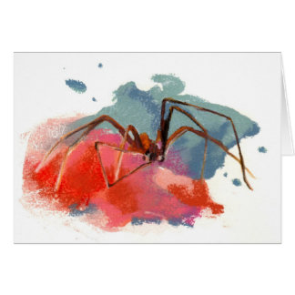 Brown Recluse Spider Card