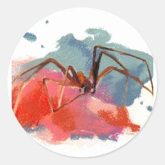 Brown Recluse Spider Classic Round Sticker