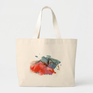 Brown Recluse Spider Large Tote Bag