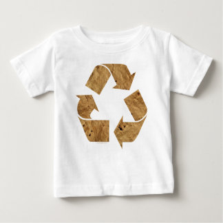 Brown Recycle Sign Baby T-Shirt