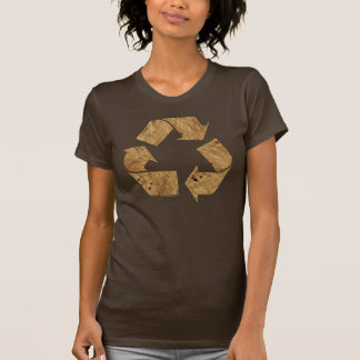 Brown Recycle Sign T-Shirt