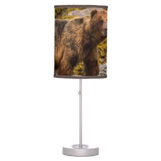 Brown refiere la playa lámpara de mesilla de noche