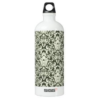 Brown Renaissance pattern Aluminum Water Bottle