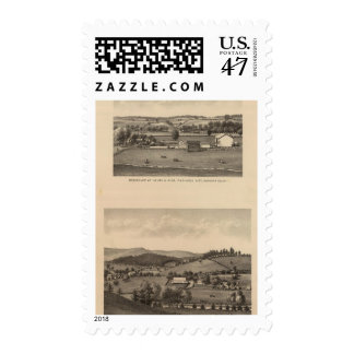 Brown residences, Augusta County Postage