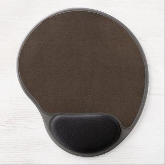 Brown Retro Custom Suede Gel Mouse Pad