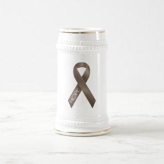 Brown Ribbon Beer Stein