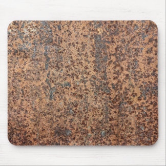 Brown Rusted Metal Corrosion Pattern 2 Mouse Pad