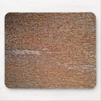Brown Rusted Metal Corrosion Pattern Mouse Pad