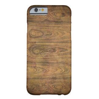 Brown rustic woodgrain vintage iPhone 6 case