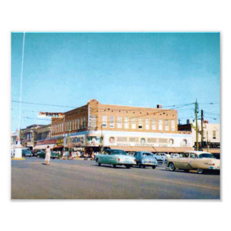 Brown s Department Store Photo Print