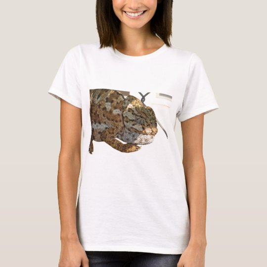 Brown Scaled Chameleon T-Shirt
