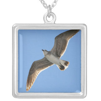 Brown Seagull, Necklace