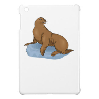 Brown Seal Cover For The iPad Mini