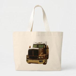 Brown Semi Truck Bag