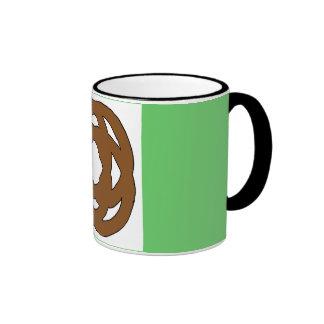 Brown Simple Circle Knot Coffee Mugs