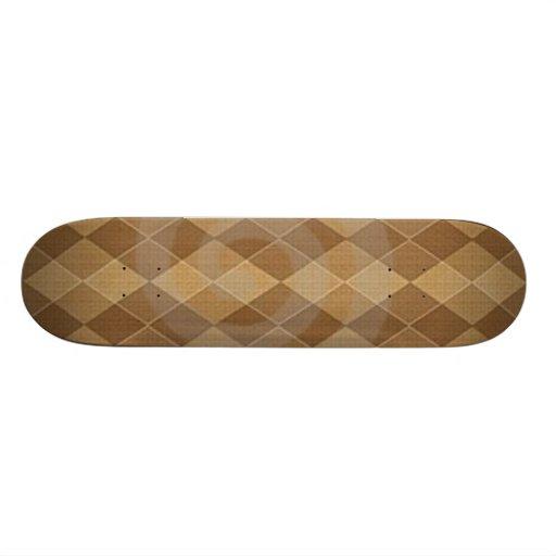brown skate deck