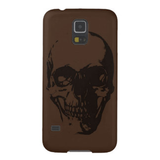 Brown Skull Case For Galaxy S5