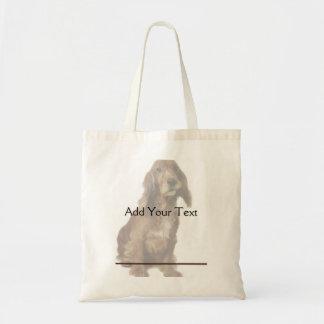 Brown Smiling, Smirking Dog Bags