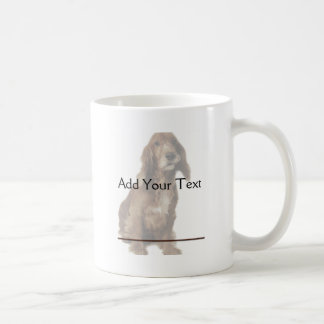 Brown Smiling, Smirking Dog Coffee Mug