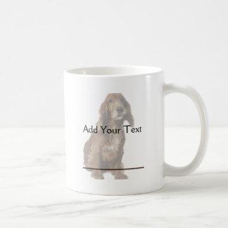 Brown Smiling, Smirking Dog Coffee Mug