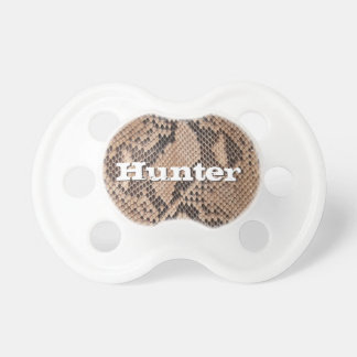 Brown Snakeskin Look Outdoorsman Country Boys Pacifier