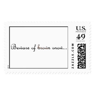 Brown-Snow Postage Stamps