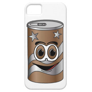 Brown Soda Can Cartoon iPhone SE/5/5s Case