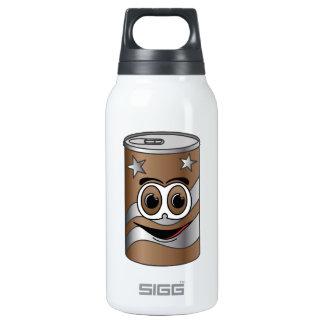 Brown Soda Can Cartoon Thermos Bottle